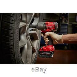 Milwaukee Fuel M18 2861-20 Clé À Chocs À Couple Moyen Sans Balais, Bateau Libre