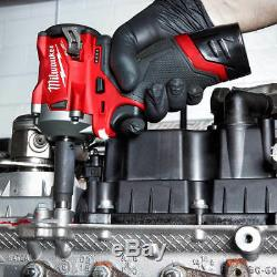 Milwaukee M12 2554-20 12 Volt Fuel 3/8 Pouces Stubby Clé À Chocs Nu Outil