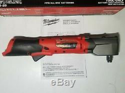 Milwaukee M12 Fuel 1/2 Clé À Chocs Droit Angie 220 Lb-pi Nu Outil # 2565-20