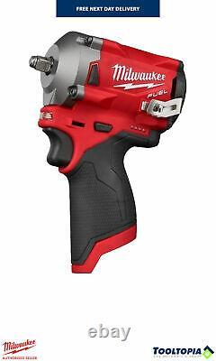 Milwaukee M12 Fuel 3/8 Clé D'impact Avec Anneau De Friction Outil Nu M12fiw38-0
