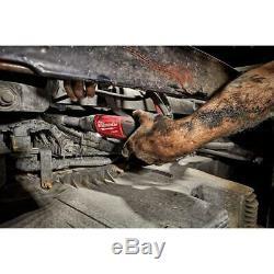 Milwaukee M12 Fuel Prolongé Portée À Cliquet 3/8 Po. 12v Li-ion Brushless Outil Seule
