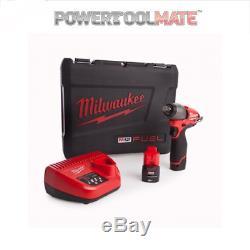 Milwaukee M12ciw12-202c M12 Clé À Chocs À Essence Compacte 1/2 Pouce