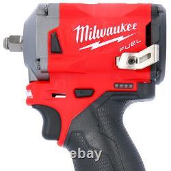 Milwaukee M12fiw38 12v Li-ion Fuel 3/8 Clé D'impact Avec 1 X 2.0ah Batterie