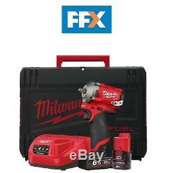 Milwaukee M12fiw38-622x 12v 1x 6.0 + 2.0ah Li-ion 3/8 Clé À Chocs 4 Mode +