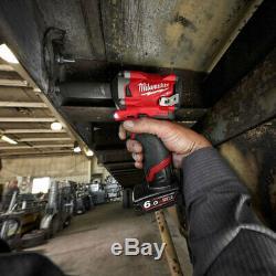 Milwaukee M12fiwf12-0 M12 Fuel 1/2 Stubby Clé À Chocs De Friction Du Corps Anneau