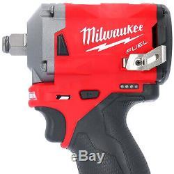 Milwaukee M12fiwf12 12v 1/2 Fuel Clé À Chocs Avec Des Mesures De Bande De Poche 8m