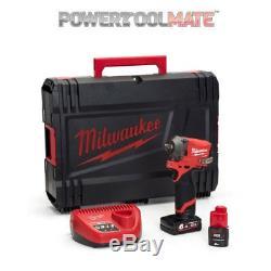 Milwaukee M12fiwf12-622x Fuel Clé À Chocs 1 / 2po Avec Piles & Étui