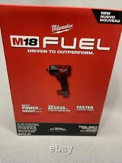 Milwaukee M18 Fuel 1/2in Clé À Chocs Mi-torque Avec Outil À Anneaux De Friction Seulement