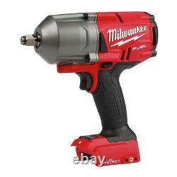 Milwaukee M18 Fuel Avec Clé Sans Brosse Sans Fil High-torque Impact Wrench