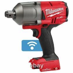 Milwaukee M18 Fuel Un-key Hi-torque Impact Wrench M18onefhiwf340 3/4 Peau Seulement