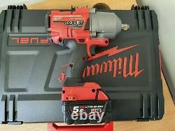 Milwaukee M18 Onefhiwf12-502x 18v 1/2 Impact Wrench Kit 2x 5.0ah Batteries