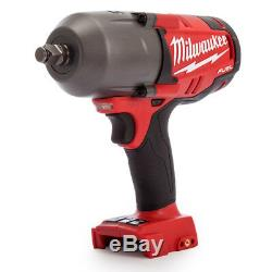 Milwaukee M18chiwf12-0 18v Carburant 1/2 Haut Couple Impact Wrench Ring Outil Nu