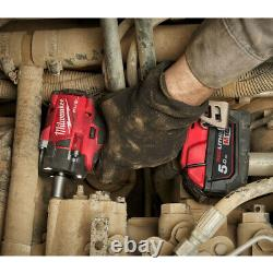 Milwaukee M18fiw2f12-502x 18v 1/2 Friction Impact Wrench 2 X 5.0ah Batteries