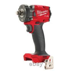 Milwaukee M18fiw2f38-0x Anneau De Friction 18v Compact 3/8 Clé D'impact 4933478650