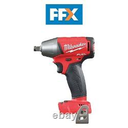 Milwaukee M18fiwf12-0 18v 1/2in Friction Ring Impact Wrench Bare Unit