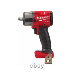 Milwaukee M18fmtiw2f12-0 1/2 18v Cordless MID Torque Impact Wrench Body Only
