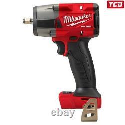 Milwaukee M18fmtiw2f12-0 Gen2 Barre D'impact D'anneau De Friction Mi-torque 1/2''