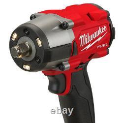 Milwaukee M18fmtiw2f12-502x Clé D'impact À Couple Moyen 18v Avec Kit D'anneau De Friction