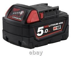 Milwaukee M18fmtiwf12-502x 18v Clé D'impact, 2 X 5ah Batteries, Chargeur Et Étui
