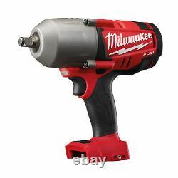 Milwaukee M18fpp2ah-503p 1/2 High Torque Impact Wrench Mechanic's Kit In Packou