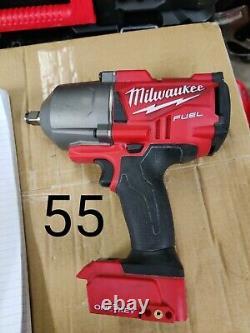 Milwaukee M18onefhiwf12 18v Cordless Impact Wrench Une Clé Sans Brosse De Carburant 1/2