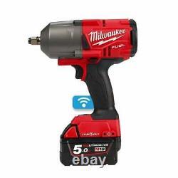 Milwaukee M18onefhiwf12-502x 18v 1/2 Clé D'impact Sans Fil 2 X 5.0ah Batteries