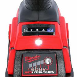 Milwaukee M18onefhiwf12-502x 18v Clé D'impact + 2 X 5ah Batteries, Chargeur