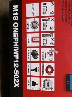 Milwaukee M18onefhiwf12-502x 1/2'' Clé D'impact Sans Fil