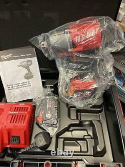 Milwaukee M18onefhiwf12-502x Fuel One Key 1/2impact Wrench 2 X 5.0ah