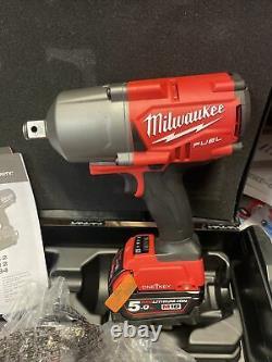 Milwaukee M18onefhiwf12-502x Fuel Une Clé 1/2 Clé D'impact 2 X 5.0ah