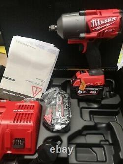 Milwaukee M18onefhiwf12-502x Fuel Une Clé 1/2 Impact Kit Clé
