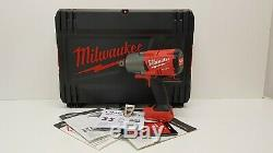 Milwaukee M18onefhiwf34-0 Étui Pour Clé À Chocs À Couple Élevé De Carburant 18v 3/4 Po