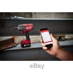 Milwaukee M18onefhiwf34-502x 18v 3/4 Clé À Chocs 2 X 5.0ah Batteries + Chargeur
