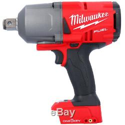 Milwaukee M18onefhiwf34-502x 18v + Clé À Chocs 2 Piles 5ah, Chargeur