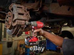Milwaukee M18oneiwf12-502x Clé À Chocs 1/2 Pouces 18v 2x5.0ah Li-ion