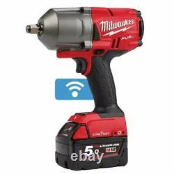Milwaukee Onefhiwf12-502x 18v Fuel 1/2in Clé D'impact 5.0ah Kit