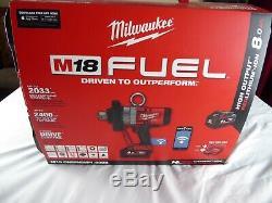 Milwaukee Pouces Lecteur Clé À Chocs M18 Onefhwifi-802x + Deux 8.0ah Batteries