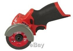 New 12v Milwaukee M12 Carburant 3 Pouces Lit-ion Brushless Sans Fil Cut Off Saw 2522-20
