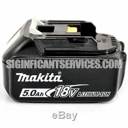 New Makita Xwt11z 18v Lxt Brushless 3 Vitesse 1/2 Clé À Chocs 5,0 Ah Batteries