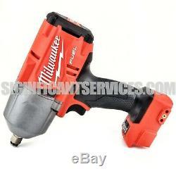 New Milwaukee 2767-20 M18 Fuel 1/2 High Torque Clé À Chocs 5,0 Batteries Ah
