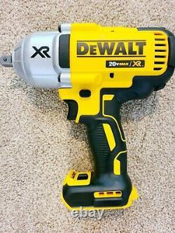 Nouveau Dewalt Dcf899b 20v Xr Max 1/2 Brushless Couple Clé À Chocs