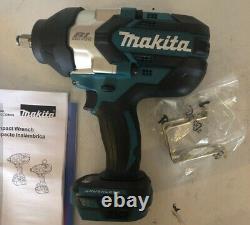 Nouveau Makita Xwt08z Lxt Lithium-ion Sans Brosse Sans Fil 1/2 Clé D'impact 18v