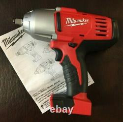Nouveau Milwaukee 2663-20 1/2 18v Impact Wrench (1) 3ah Battery / Charger & Bag