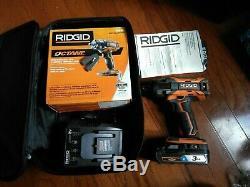 + Nouveau Ridgid Octane R86011 18v 1/2 Clé À Chocs Sans Balais Et La Batterie (nib) +