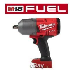 Nouvel Anneau De Clé À Chocs Sans Fil Fuel 2767-20 18v 1/2 De Milwaukee M18