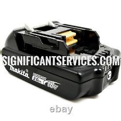 Nouvelle Makita Xwt13zb 18v Sub Compact Brushless 1/2 Clé À Chocs 2.0 Ah Batterie