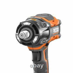 Ridgid 18v Octane 4-modes Sans Fil Brushless 1/2 In. Clé D'impact R86011b