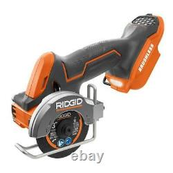 Ridgid Combo Tools 2-outil 18-volt Sous-compact Lithium-ion Sans Fil Sans Fil