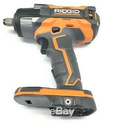 Ridgid R86011b 18v Gen5x Sans Fil Brushless 1 / 2in Clé À Chocs (outil Nu)