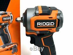 Ridgid R87207b 18v Lithium-ion Sans Fil Brushless 3/8 Po. Clé À Chocs